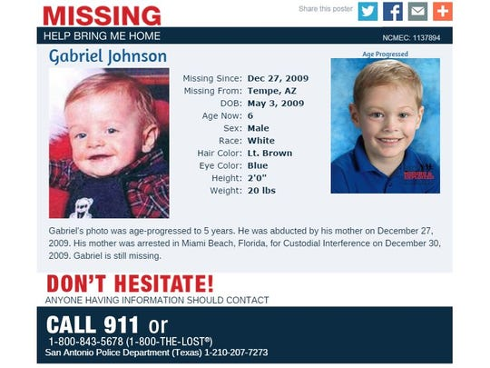 What Baby Gabriel, missing since 2009, could look like at age 5