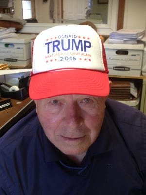 Ed Bals, 81, of Brick, N.J. is suing Donald Trump's golf course and supporting the candidate for president.