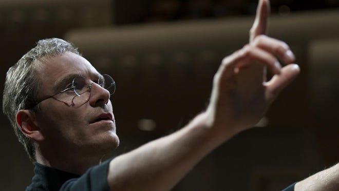 "Michael Fassbender stars in ""Steve Jobs."""