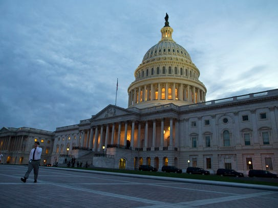A view of the U.S. Capitol building