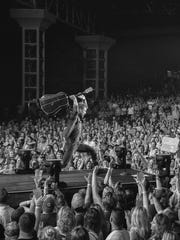 Dierks Bentley's Somewhere on a Beach Tour is playing to capacity crowds. Friday's show at the Resch Center will likely be a sellout.