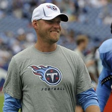 Former Tennessee Titans kicker Rob Bironas was a fan favorite in Nashville.