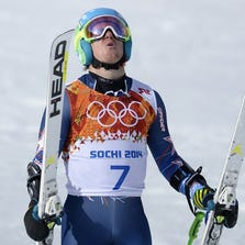 Ted Ligety is safely down the mountain with his second run in the giant slalom, and the gold medal is secured.