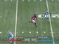 The speed of Atlanta Falcons receiver Roddy White and Carolina Panthers safety Quintin Mikell is shown. The NFL is implementing radio-frequency identification technology this season that will allow visualizations such as this to be part of TV broadcasts in 17 stadiums.