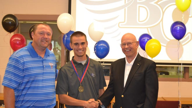 West Henderson senior Brandon Capps has signed to play golf for Brevard College.