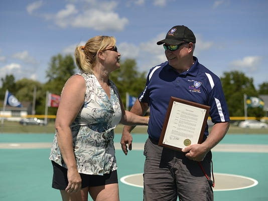 GPG Paul Liegeois and the Miracle League