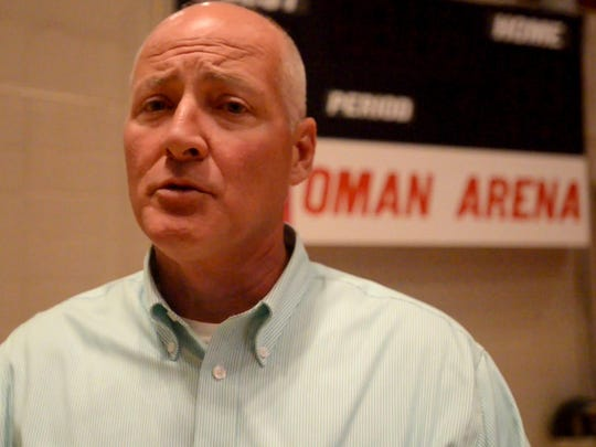 Perry Murphy spoke about the status of Oman Arena on Wednesday.