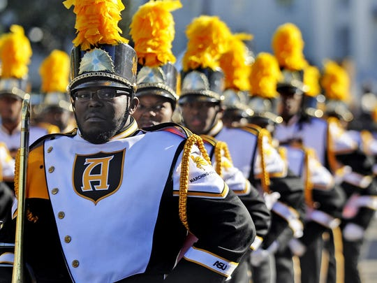 The Marching Hornets will participate in the Turkey Day Classic Parade on Saturday in downtown Montgomery.