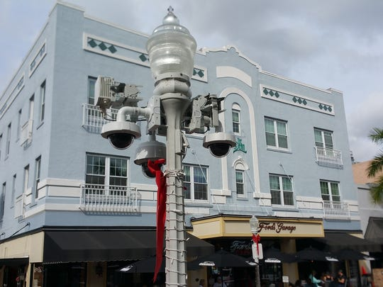Fort Myers officials are ahead of schedule with the downtown security camera installation. The city decided to speed up the project to have the cameras ready in time for the New Year's Eve celebration.