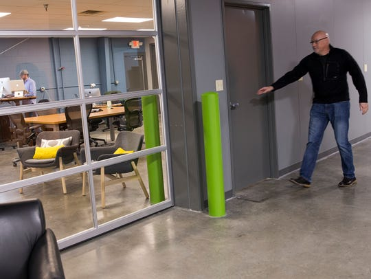 Work being done at the new Indiana IoT Lab, Fishers,