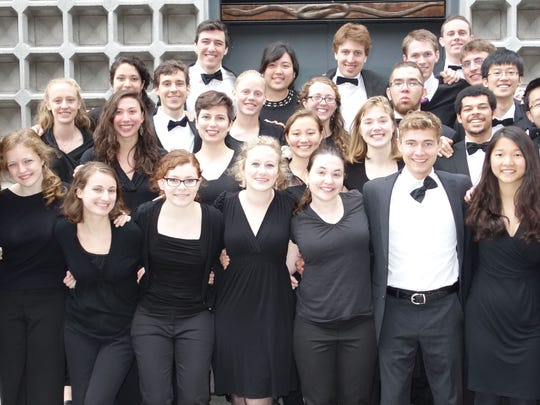 The Middlebury College Choir performs a free concert Friday.