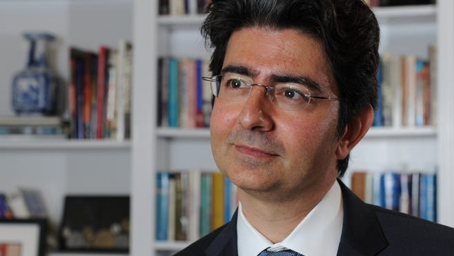 EBay founder, billionaire and philanthropist Pierre Omidyar.