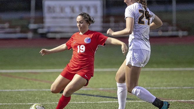 Tatum Snyder, a senior center back for the Thomas girls soccer team, kept herself busy preparing for the season before team activities were allowed to resume in pods of nine players per coach on Aug. 6.