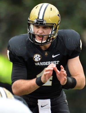 Redshirt freshman Patton Robinette is set to make his first start when Vanderbilt faces off against No. 15 Texas A&M for the first time.