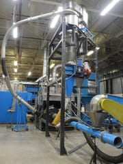 Former PulverDryer machines in its facility at 126 Avenue C in Springfield. The company closed its doors earlier this year.