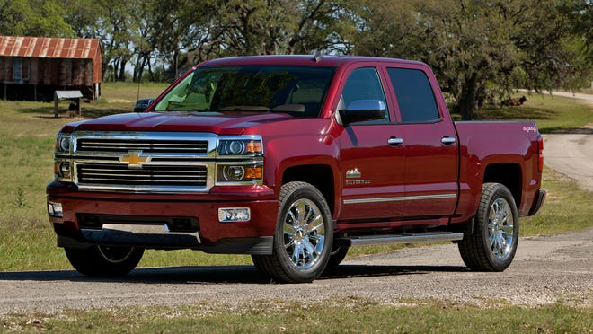 The redesigned 2014 Chevrolet Silverado, named North American Truck of the Year on Monday at the Detroit Auto Show.
