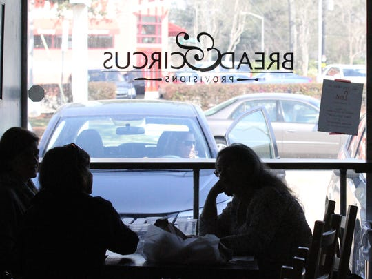 Customers dine at Bread & Circus Provisions in this Advertiser file photo.