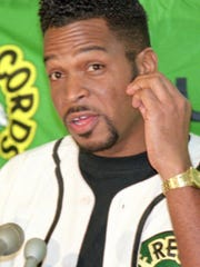 Rapper Luther Campbell, shown in this 1994, is best known for his association with the group 2 Live Crew.