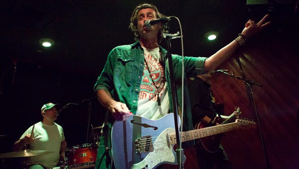 Roger Clyne & the Peacemakers, seen performing at the