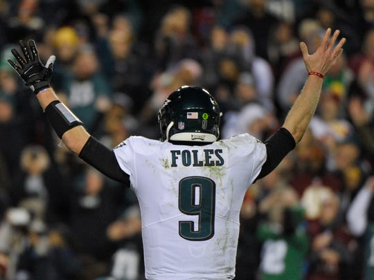 Nick Foles wrote a thank you note to fans before he heads off to Jacksonville.