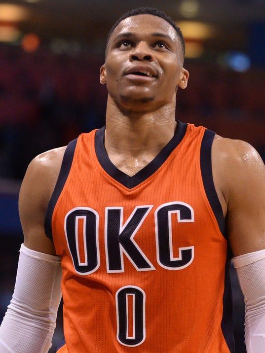 USP NBA: PORTLAND TRAIL BLAZERS AT OKLAHOMA CITY T S BKN USA OK