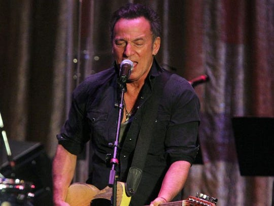 Bruce Springsteen and at the Light of Day Winterfest
