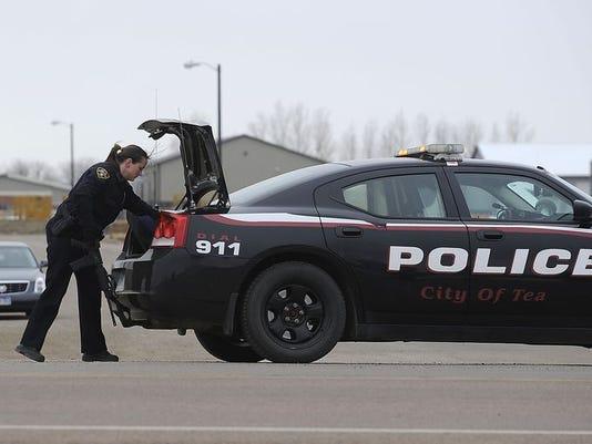 Tea Police car