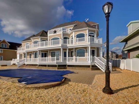 Artie Lange's Toms River mansion.