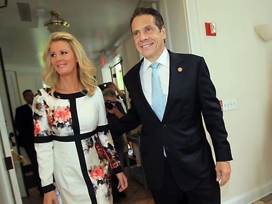 Sandra Lee and Andrew Cuomo.