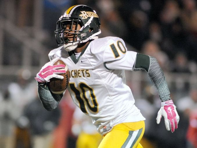 Former All-WNC running back Rico Dowdle has moved to quarterback for Reynolds.
