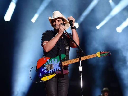 Brad Paisley will be in concert Sunday at the Hollywood Casino Amphitheatre at St. Louis, Mo.