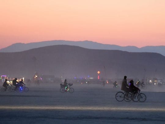 Burning Man in 2014