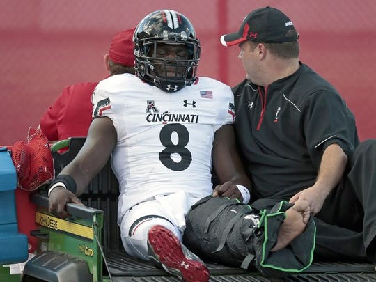 The loss of senior cornerback Adrian Witty is a big blow to the UC defense.
