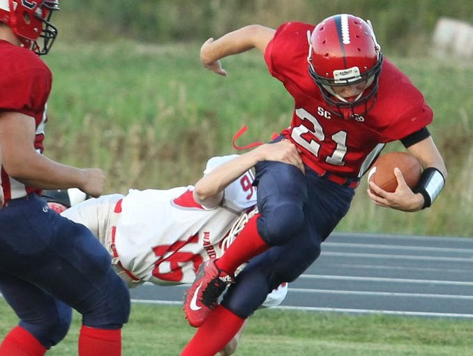 Noah Zastrow and the Spencer/Columbus football team take on Eau Claire Regis to try and stay undefeated.