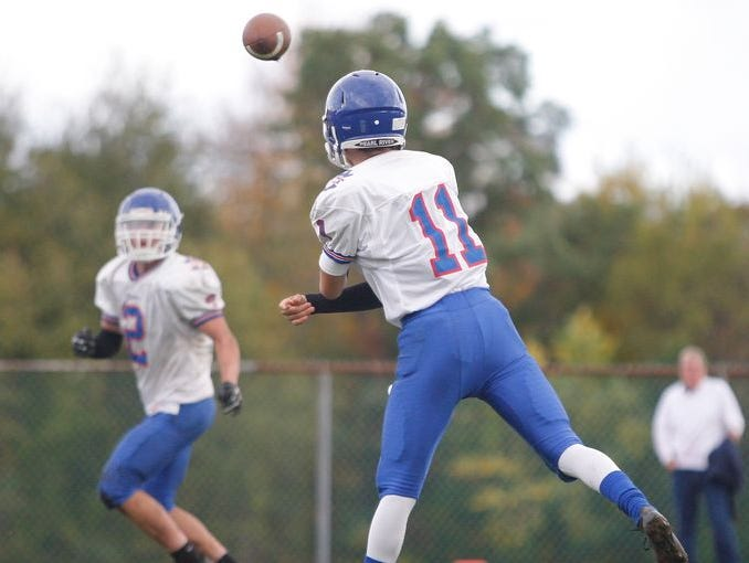 Pearl River competes against Nanuet on Oct. 18, 2014.