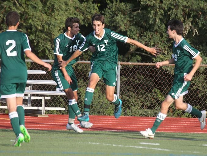 Yorktown soccer won 1-0 at Somers Sept. 25, 2015.