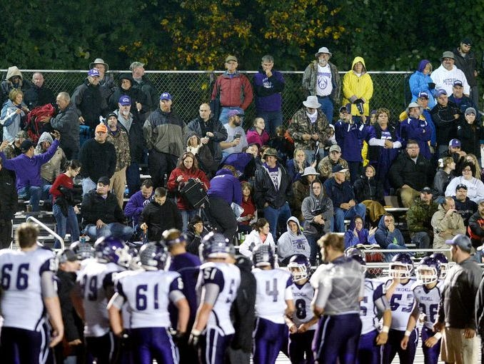 The Mitchell football team has a large fan base that feels like part of the program