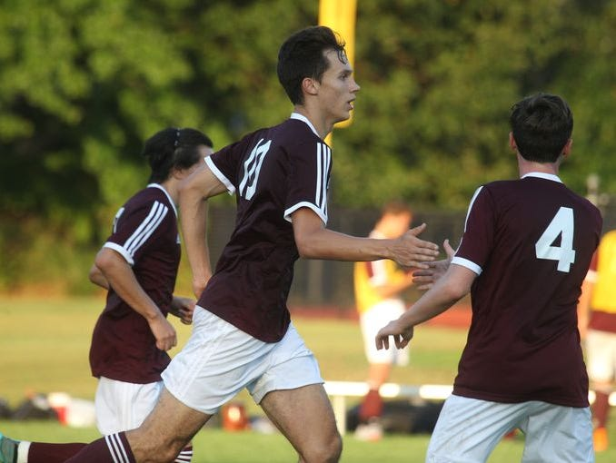 Valhalla boys soccer won 2-1 at Rye Neck Sept. 17, 2015.