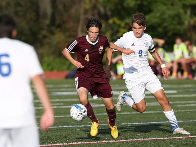 Arlington defeated Mahopac in a boys soccer game at Mahopac High School Oct. 8, 2015.
