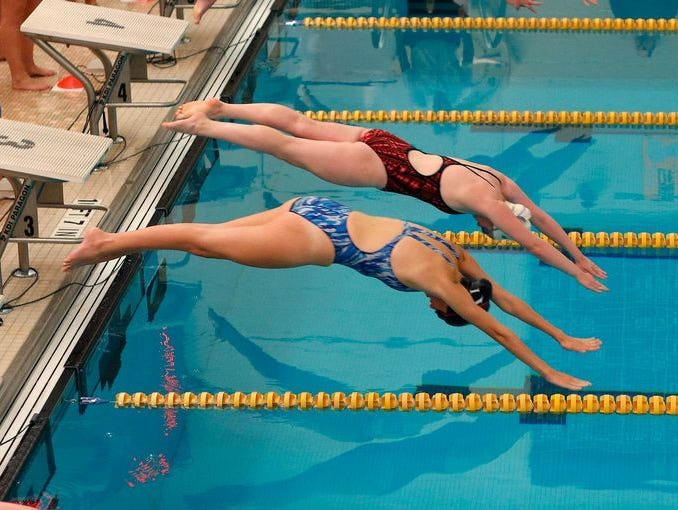 Take a look at mid-Michigan's top swimming and diving performers.
