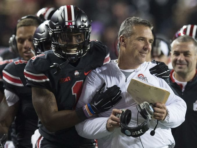 Ohio State retained the No. 4 spot in the FourSight College Football Playoff projection.