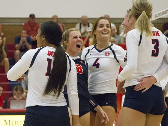Despite losing seven players from last year's Sweet 16 run, Dixie State coach Robyn Felder has the Storm atop the PacWest standings again.