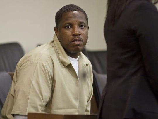 Ebenezer Bryd, 35, appears before Judge Anthony Mellaci