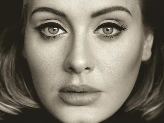 British songstress Adele releases her long-awaited third studio album, 25, today after four years without a release.