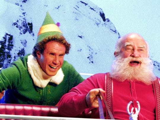 Buddy (Will Ferrell), is a human who is raised by elves