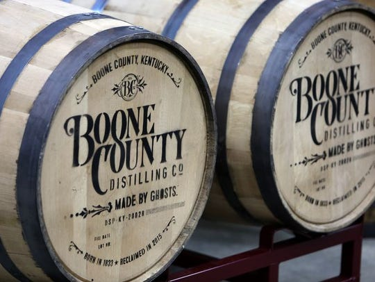 The Boone County Distilling Co is located at 10601