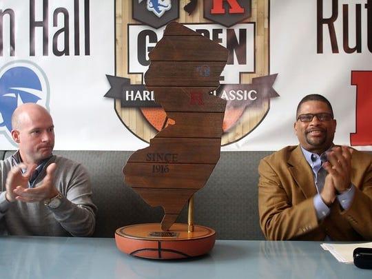 Kevin Willard and Eddie Jordan applaud the rivalry's intensity.