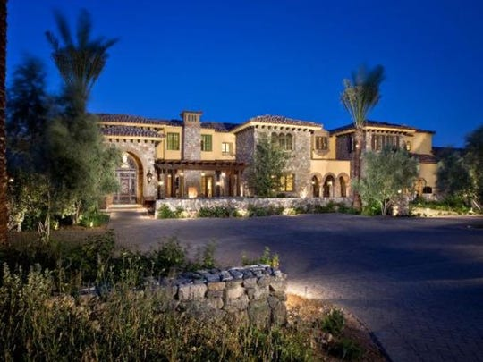 Hall of Famer baseball pitcher Randy Johnson's 25,000-square-foot Tuscan-style home near Paradise Valley's Mummy Mountain is on the market for $25 million.
