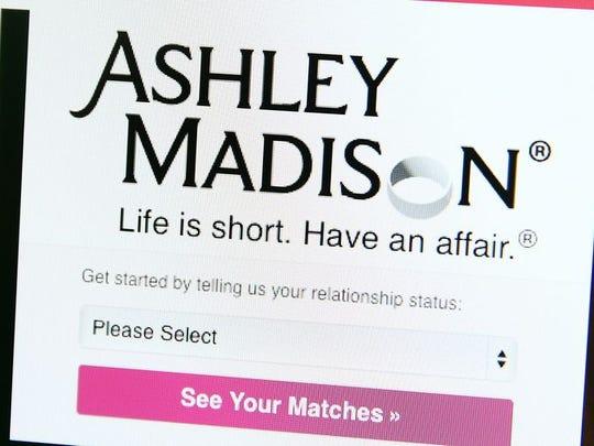 Ashley Madison cheating website.
