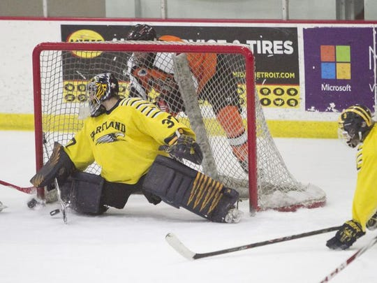 The Hartland hockey team lost in the quarterfinals